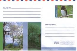 Cuba Kuba Intero Postale Uccelli Birds Tocororo Sierra Del Rosario Pinar Del Rio Preaffrancato Illimitato - Posta Aerea