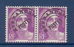 PREOBLITERE N° 102b PETIT T TENANT A NORMAL ** - 1893-1947