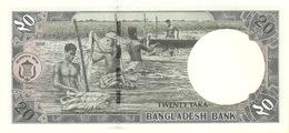 BANGLADESH P. 40a 20 T 2002 UNC - Bangladesh