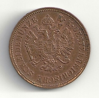 Autriche Austria 4 Kreuzer 1861 B Superbe  Franz Joseph - Austria