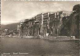 SORRENTO - HOTEL TRAMONTANO - FORMATO GRANDE - VIAGGIATA 1954 - (rif. E75) - Italia