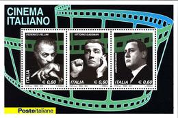 Italia Repubblica 2010 Foglietto N 65 Cinema Italiano - 6. 1946-.. Repubblica