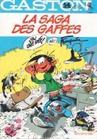 GASTON - 14 - La Saga Des Gaffes - DUPUIS - Gaston