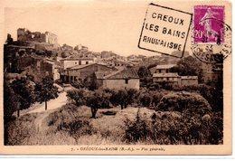 France: Daguin Maximum : Creoux Les Bains Rhumatismes - 1921-1960: Période Moderne