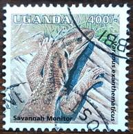 Ouganda - YT N°1236 - Faune / Reptiles - 1995 - Oblitéré - Ouganda (1962-...)