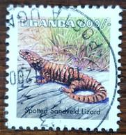 Ouganda - YT N°1624 - Faune / Reptiles / Lézard - 1998 - Oblitéré - Ouganda (1962-...)