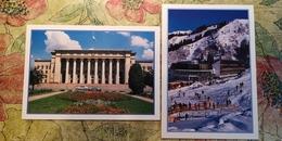 KAZAKHSTAN. ALMATY Capital.  2 Postcards Lot - Modern Postcard - Kazakhstan
