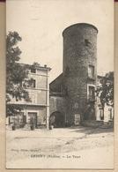 D69 - 2 CPA - GRIGNY - La Tour -- La Baronnie, Vue Extérieure - Grigny
