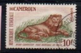 "CAMEROUN :-- Y&T (o) N° 348A "" Lion "" - Cameroun (1960-...)"