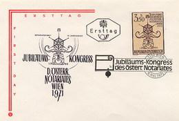 AUSTRIA - OSTERREICH - FDC  1971 - NOTARIATES - FDC