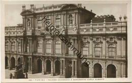 Torino -Palazzo Carignano E Monumento Carlo Alberto - Foto-AK - Vera Fotografia - Palazzo Carignano