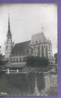 D 27 CPSM  9 Cm X 14 Cm CONCHES 2 Cartes Eglise Ste Foy Et Le Portail De La Mairie  Ecrites  N038 - Conches-en-Ouche