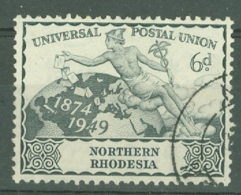 Northern Rhodesia: 1949   U.P.U.  SG52    6d   Used - Northern Rhodesia (...-1963)