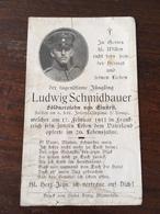 Sterbebild Wk1 Ww1 Bidprentje Avis Décès Deathcard IR6 WICRES VILLAGE Block 2 Grab 362 AusEinfirst - 1914-18