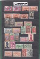 """COLONIES FRANCAISES / CAMERON / QUELQUES BELLES OBLITERATIONS  - Liquidation Petit Stock à Saisir"""""""""""""""""""""""""""""""""""" - Cameroun (1915-1959)"""