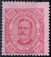 Cabo Verde, 1893/5, # 34 Dent. 13 1/2, MH - Islas De Cabo Verde