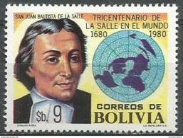 Bolivia - 1980 La Salle 9b  MNH **   Sc 653 - Bolivia