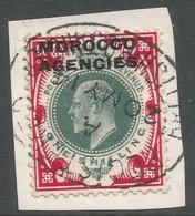 Morocco Agencies (British Currency). 1907-13 KEVII, 1/- Used SG 37 - Bureaux Au Maroc / Tanger (...-1958)