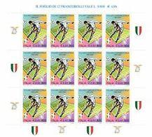 Italia Repubblica 2001 Minifoglio N 2 Scudetto Alla Lazio - 6. 1946-.. Repubblica