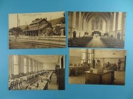 Lot De 8 CPA Du Collège Saint-Paul Godinne S/Meuse (avec Gare De Godinne) - Yvoir