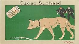 CHROMOS CHOCOLAT SUCHARD SERIE LES CHIENS BELGE CACAO - Suchard