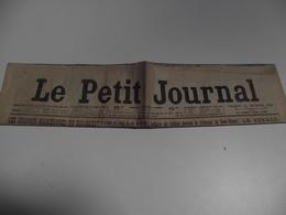 Le Petit JOURNAL, 12 Septembre 1913 - Giornali
