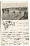 SEHR FRÜH 1895 Basel Gruss Aus Carl Künzli - BS Basel-Stadt
