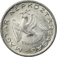Monnaie, Hongrie, 10 Filler, 1964, Budapest, TTB, Aluminium, KM:547 - Hongrie