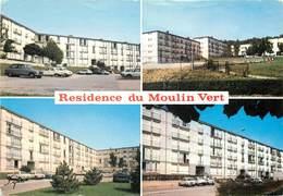 SANNOIS - Résidence Du Moulin Vert,carte Multi-vues. - Sannois