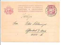 Latvija. Riga N-18.2.23>Offenbach PC Mi P7 - Latvia