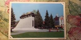 Russia. Tambov. Tank T-34 Monument -  Modern Postcard - Weltkrieg 1939-45