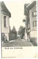 ENTLEBUCH Gruss Aus E Strassenleben Ausg. Jos. Lauber Um 1904 - LU Lucerne