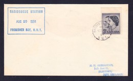 "CANADA, "" Frobisher Bay N.W.T."", 1964 , Cachet + Postmark !! Look Scan !! 14.7-45 - Sin Clasificación"