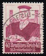 564 Nothilfe Berufsstände Richter 40 Pf O - Allemagne