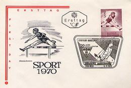 AUSTRIA - OSTERREICH - FDC  1970 - SPORT  VELA  SAILING  VOILE  TRAPEZIO - Vela