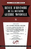 Guerre 39 45 : Sur L'aviation Française (1919 1940) - Revues & Journaux