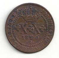Brézil Brazil XX(20) Réis 1820 R Rio De Janeiro John VI - Brésil