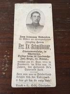 Sterbebild Wk1 Ww1 Bidprentje Avis Décès Deathcard LIR16 27. September 1914 Aus Aholming - 1914-18