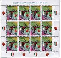 Italia Repubblica 2001 Minifoglio N 6 Scudetto Alla Roma - 6. 1946-.. Repubblica