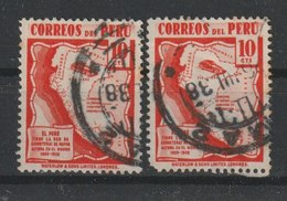 MiNr. 389  Peru 1938, 1. Juli. Freimarken: Landesmotive. - Peru