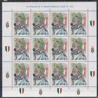 Italia Repubblica 2002 Minifoglio N 7 Scudetto Alla Juventus - 6. 1946-.. Repubblica