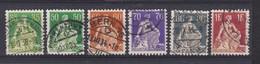 SUISSE 1933-34:   Helvétie à L'épée, Papier Couché Crayeux, Grillé, Série Complète, Oblitérés - Used Stamps