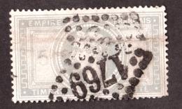 France - Napoléon N° 33 - GC 1769 Le Havre - 1863-1870 Napoléon III Lauré