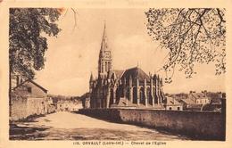 ¤¤   -  ORVAULT   -  Chevet De L'Eglise   -   ¤¤ - Orvault