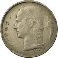 Monnaie, Belgique, Franc, 1960, TB+, Copper-nickel, KM:142.1 - 1951-1993: Baudouin I