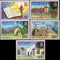 TUVALU 1976 - Scott# 38-42 Christmas Set Of 5 MNH - Tuvalu