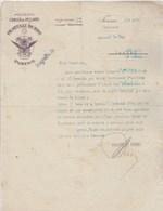 Italie Facture Lettre Illustrée 8/8/1916 FRATELLI DURIO Premiata Concia Di Pellami TORINO Pour Le Roy Bernay - Italie