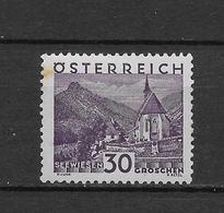 LOTE 1824  ///  AUSTRIA 1929   YVERT Nº:  384 **MNH    ¡¡¡OFERTA !!! (TIENE MANCHA DE OXIDO) COTE:60€ - Ungebraucht