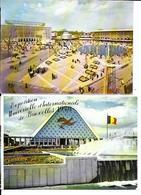 2 X CPA / AK / PK   -   BRUXELLES   EXPO 58 ( Grand Palais + URSS ) - Feesten En Evenementen