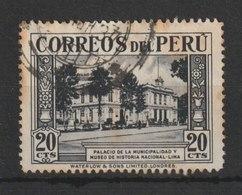 MiNr. 339 Peru 1936, Dez. Freimarken: Landesmotive. - Peru